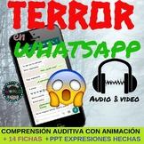 Comprensión Auditiva Audio Español Listening Comprehension Spanish Fun Halloween