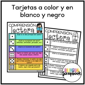 Comprension Lectora con Dados (Comprehension Activities in Spanish)