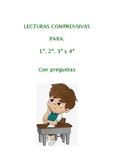 Comprensión Lectora en Español para 1º, 2º, 3º y 4º de Pri