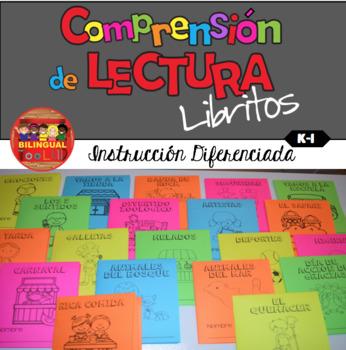Comprensión de Lectura Libritos K-1