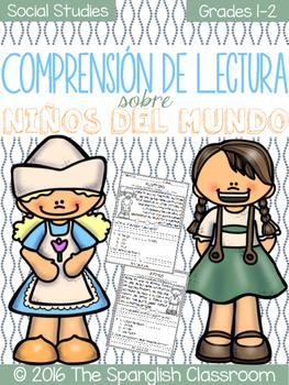 Comprensión de Lectura- Niños del Mundo