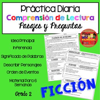 Comprensión de Lectura Práctica Diaria Ficción /Reading Comprehension in Spanish