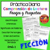 Comprensión de Lectura Práctica Diaria Ficción /Reading Co