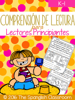 Comprensión de Lectura para Lectores Principiantes