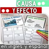 Comprension de lectura: causa y efecto en ingles y espanol DIGITAL LEARNING