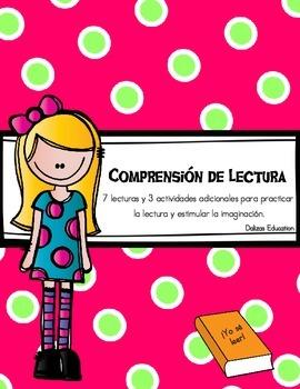 Comprensión de lectura| ¡yo sé leer! | Reading Comprehension (spanish)