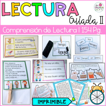 COMPRENSION DE LECTURA BUNLE/ Lectura guiada