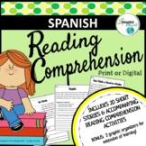 SPANISH - Reading Comprehension Short Stories - Comprensió