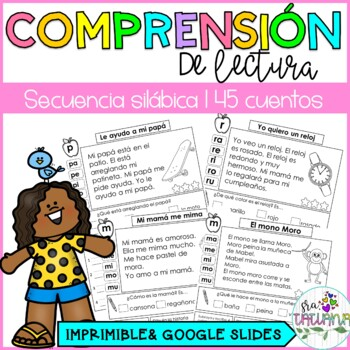 COMPRENSIÓN DE LECTURA SECUENCIA SILÁBICA/ reading comprehension passages