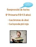 Comprensión de textos 6º (10-13 años) en español con pregu