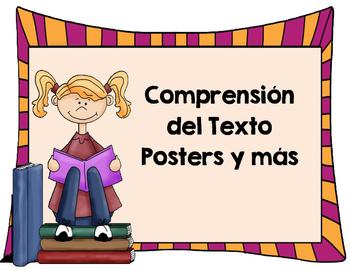 Comprension del Texto-Posters y mas...