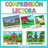 Reading comprehension in Spanish Boom Cards | Comprensión