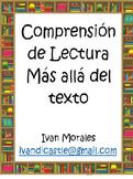 Compresion de Lectura - Mas alla del texto