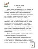 Compréhension de lecture : La fuite de Pitou