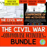 Compromise of 1850 Activities BUNDLE