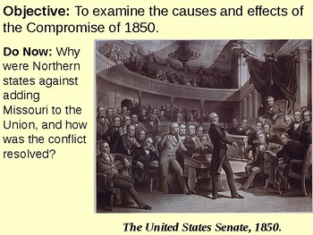 Compromise of 1850 PowerPoint Presentation