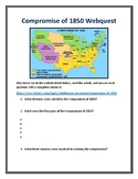 Compromise of 1850 Webquest (With Answer Key!)
