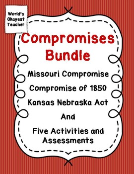Compromises Bundle: Reading Material and Five Activities