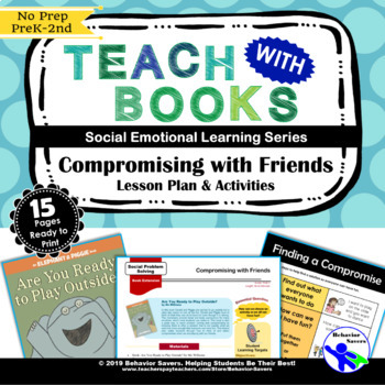 Compromising with Friends-Are You Ready to Play Outside?–PreK-2 Lesson