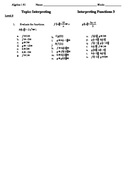 Compsite Functions and Domain