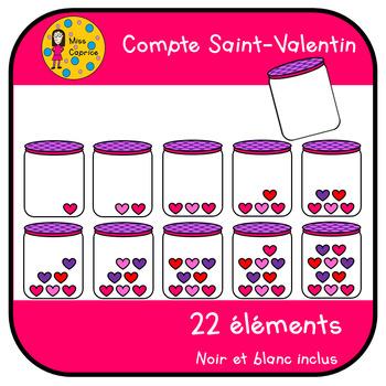 Compte St-Valentin - Clipart