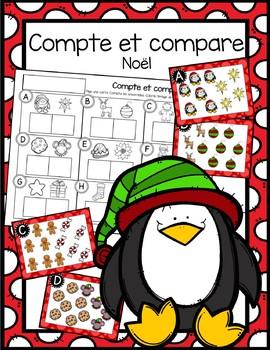Compte et compare - Noël