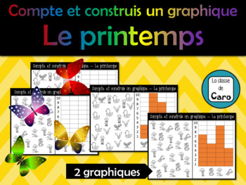 Compte et construit un graphique - LE PRINTEMPS  (French)