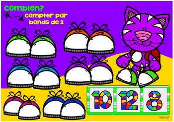 FRENCH BOOM CARDS • Compter par bonds de 2