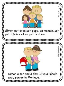 """""""Simon et les bonbons"""" (Comptine, activités, le son """"on""""  French phonics)"""