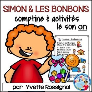 """Centres de littératie - Mots fréquents - Le son """"on"""" - French Phonics"""