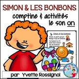 Comptine et activités pour le son ON en français    I  French phonics activities