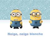Comptines – Neige Neige Blanche - FREEBIE!