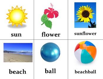 Compund Word Building Flashcards