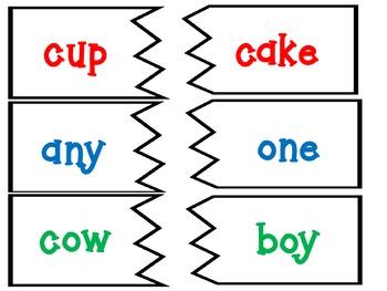 Compund Words Center Activity
