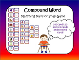 Compund Words Matching Pairs or Snap Game