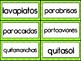 Compound Words Pack in Spanish