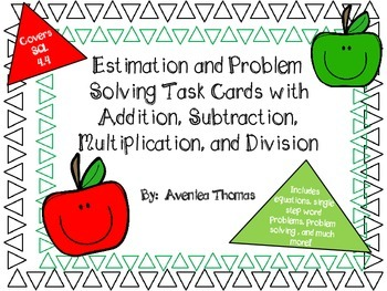 Computation, Estimation, and Word Problems with ALL Operations