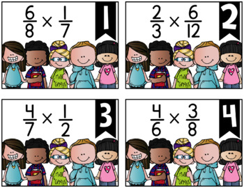 Multiplying Fractions {a Problem of the Day Intervention}
