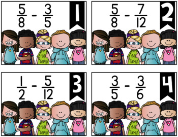 Subtracting Fractions {a Problem of the Day Intervention}
