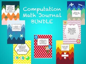 Computation Math Journal BUNDLE