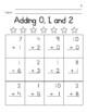 Addition & Subtraction Computation Practice 0-9