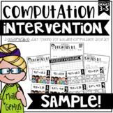 Computation Intervention SAMPLE