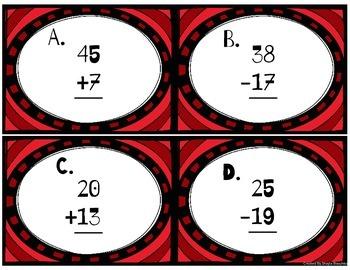 Computation Scoot (2nd Grade MCLASS Math)