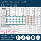 Addition & Subtraction - Computation Stations