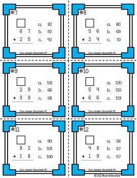 Addition & Subtraction - Computation Stations