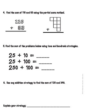 Computation Strategies and Math Review