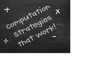 Computation Strategies that Work