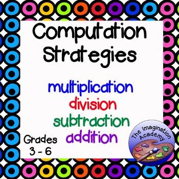 Computation Strategy Charts