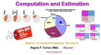 Computation and Estimation Math 6-8
