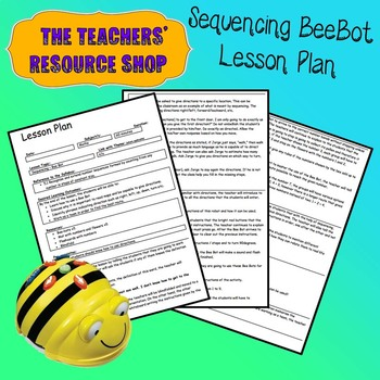 Computational Thinking Sequencing Pollen Hunt Lesson Plan